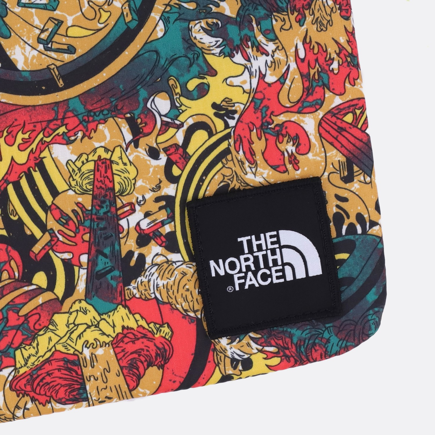 THE NORTH FACE EXPEDITION AFRICA FLYWEIGHT LAPTOP 13 LEOPARD YELLOW 1a40f8ef736e