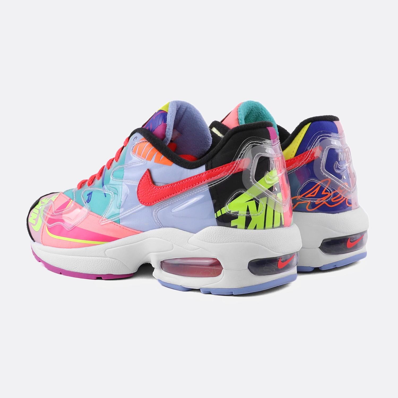 sports shoes 76592 012ff NIKE X ATMOS AIR MAX2 LIGHT QS BLACK   BRTCRM
