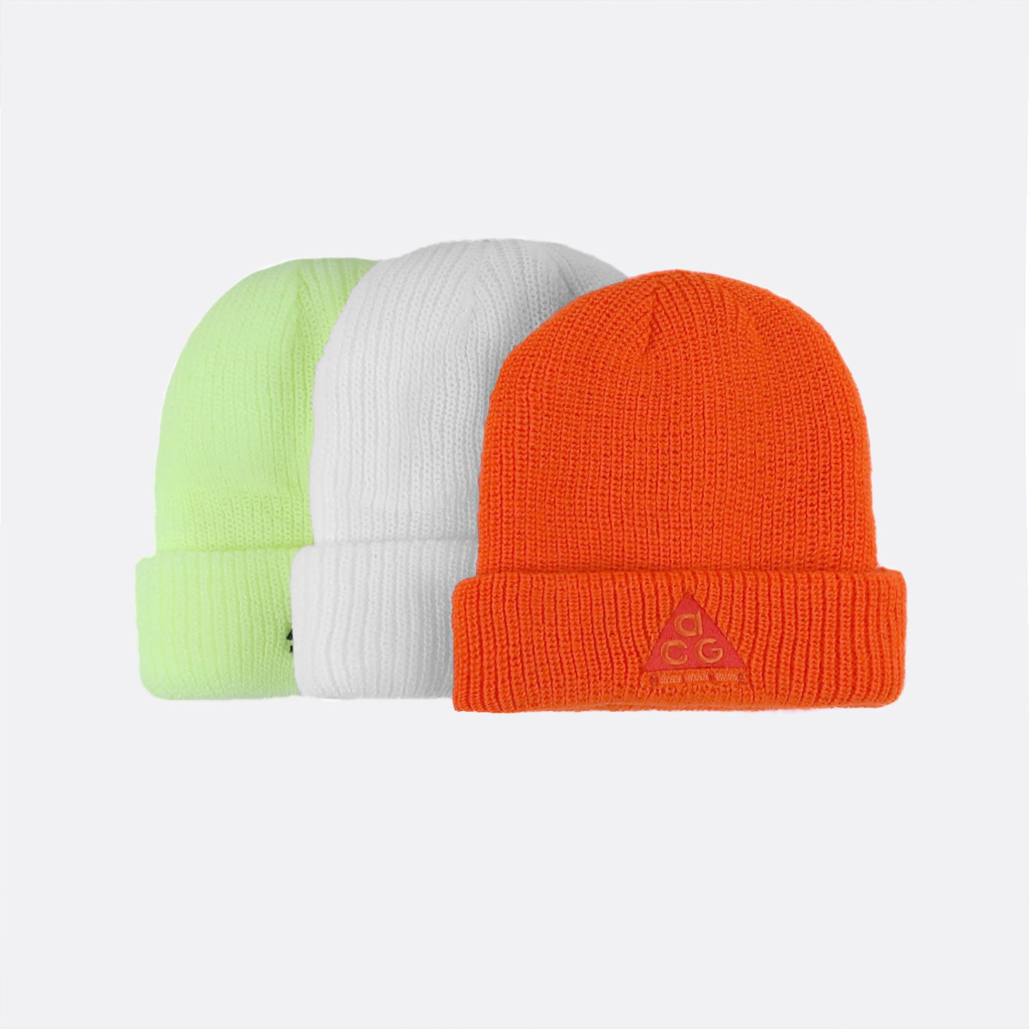 41f780540 NIKE ACG BEANIE SAFETY ORANGE/HABANERO RED