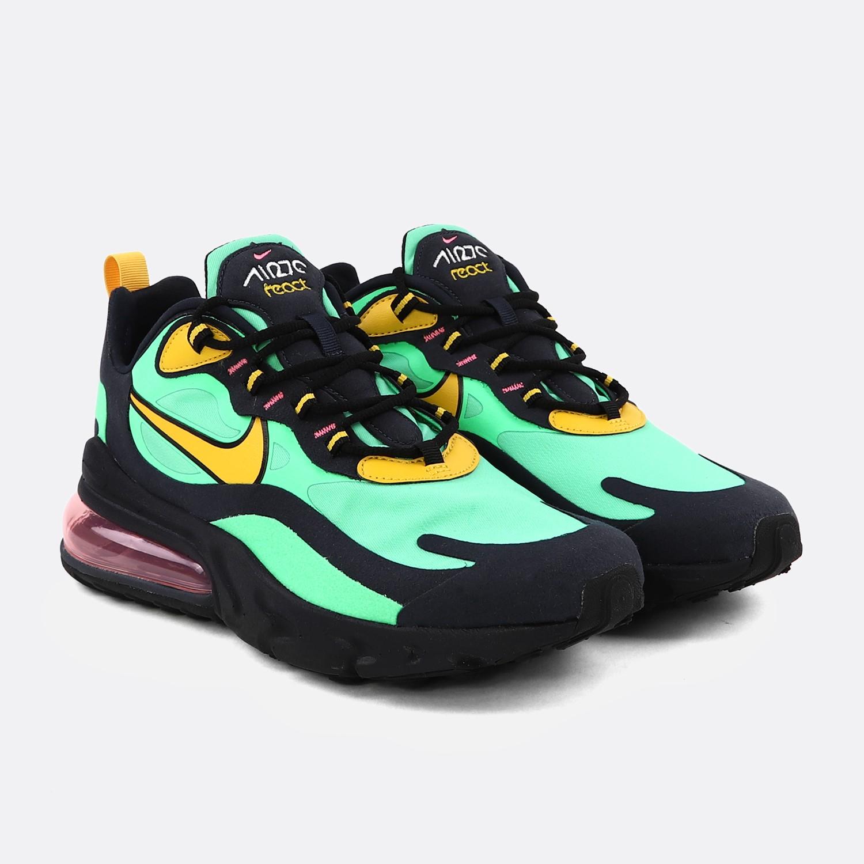Nike Air Max 270 React Yellow Green |