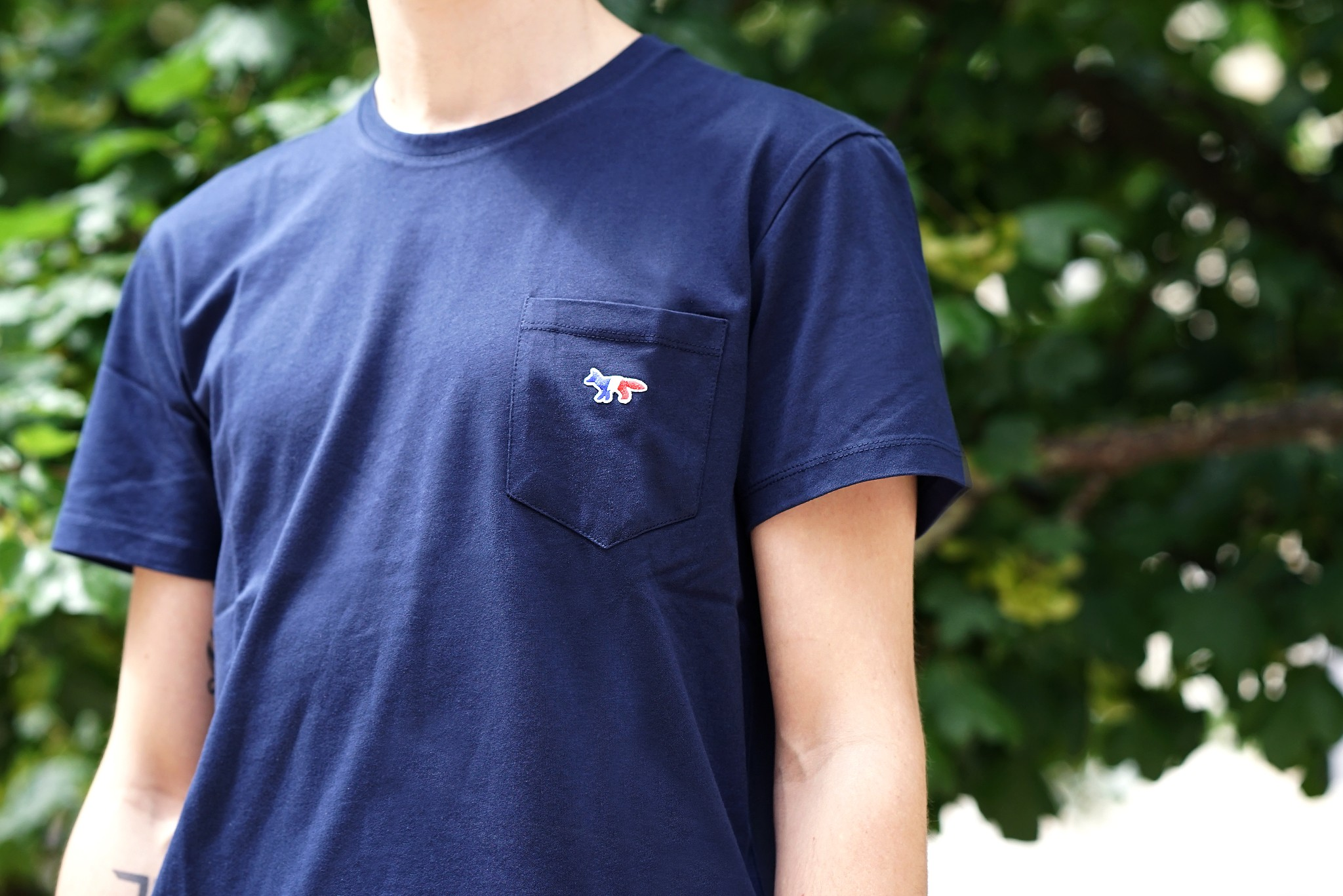 maison Kitsune Tees back in stock