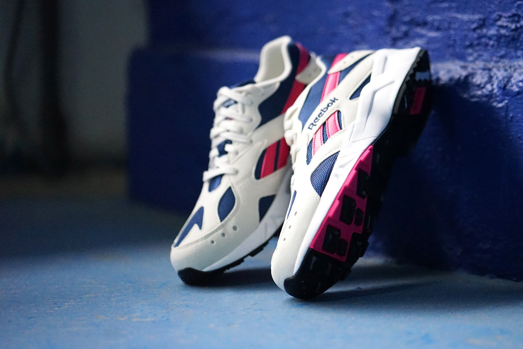 the return of Reebok Aztrek in two og colorways