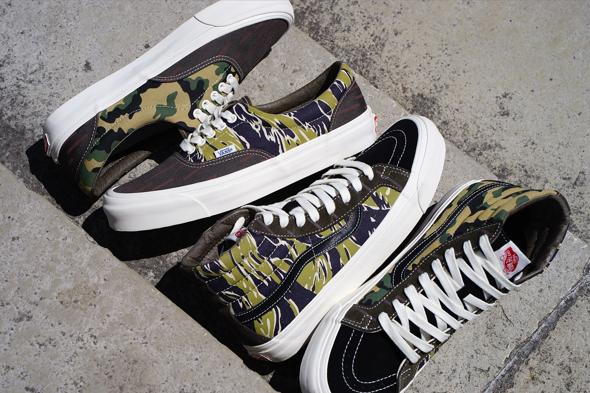 VANS VAULT 'MIXED CAMO' PACK